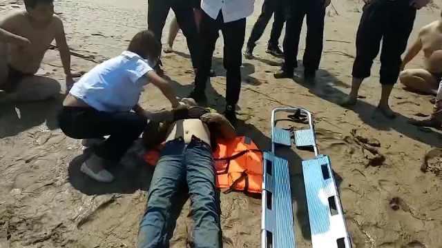 女孩拍bobAPP安卓意外拍到有人跳河,民警沿河岸跑5小时救人