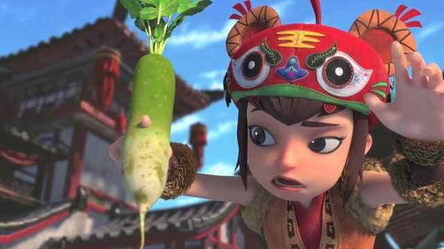 【柳毅传奇】用手指就能戳穿萝卜的虎女,你们喜欢吗