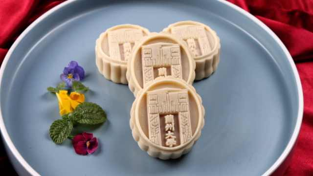 兰州大学推出定制版月饼,刻入校徽和建筑物:传递学校情怀