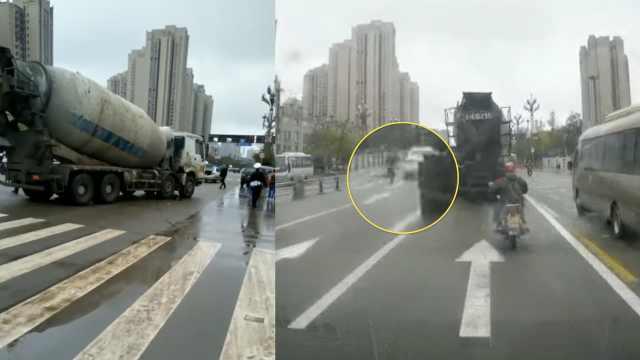 痛心!四川内江一小孩猛奔跑过斑马线,遭罐车碾压身亡