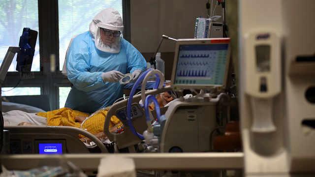 美国多州ICU告急,盐湖城仅剩2张病床,准备重启方舱医院