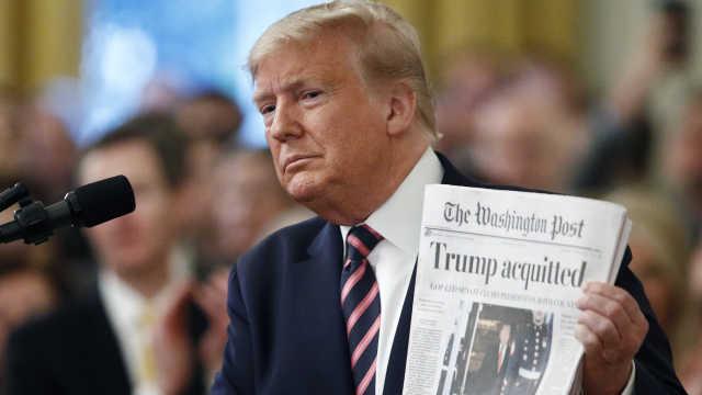特朗普离任会面临起诉吗?拜登避答,媒体称或采用总统赦免
