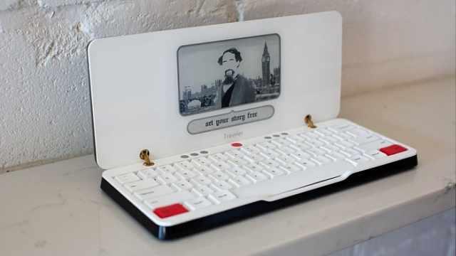 这款笔记本,专注于便携打字,可随时随地工作并保存云端!