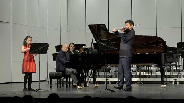 青少年乐团演奏新年音乐会:同名家合奏,新潮与古典交融