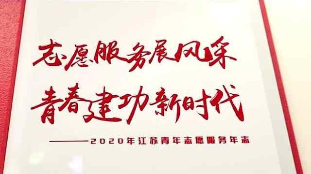 """江苏发布""""2020青年志愿服务年志"""""""