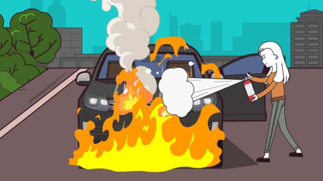 汽车自燃以后,应该找谁来赔钱?