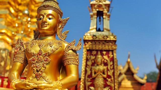 泰国最具土豪气息的寺庙,游客较少