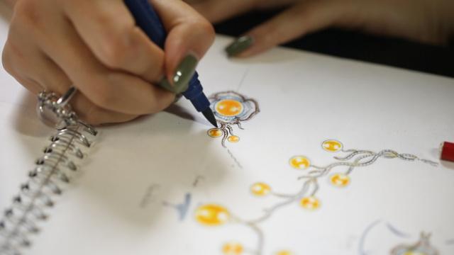 90后珠宝设计师专注有故事的首饰
