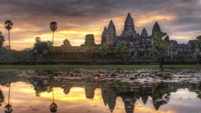 世界上最大的庙宇竟然是吴哥窟