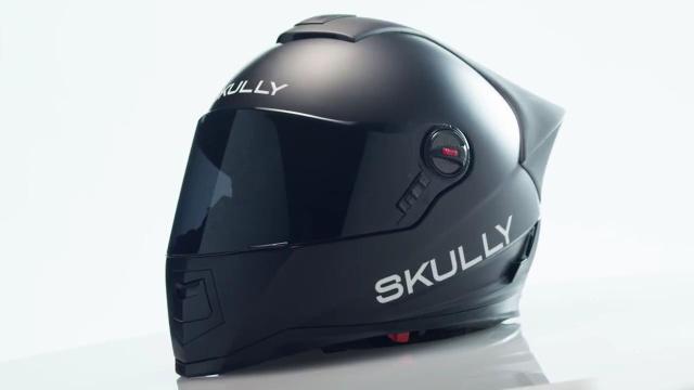 无死角捕捉影像的增强现实摩托头盔