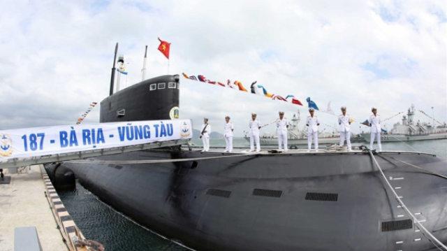 越南潜艇跟踪我国航母群三天?