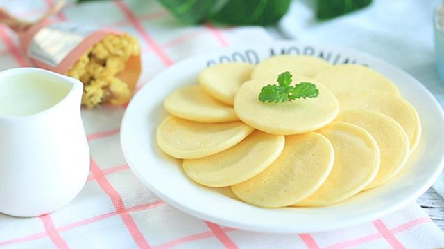 奶香松饼的诱惑,好吃无添加!