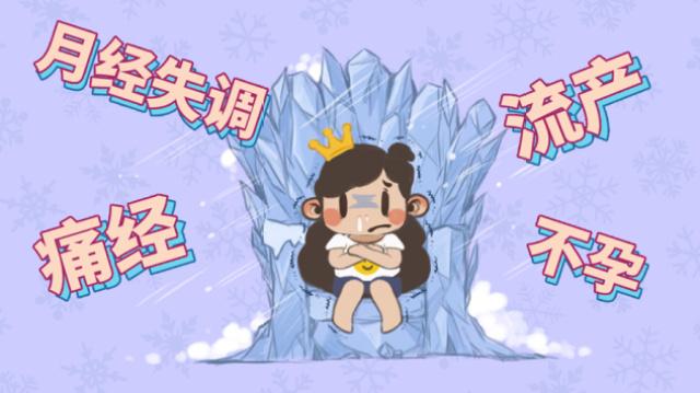 中国女生吃冰就宫寒?