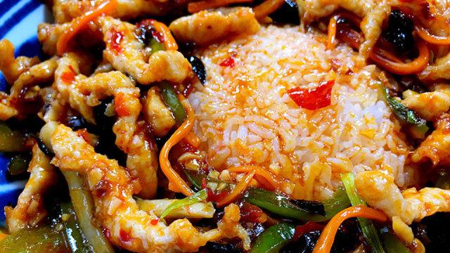 鱼香肉丝盖饭最正宗的做法