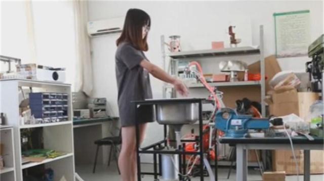 中国大学生发明空气水龙头