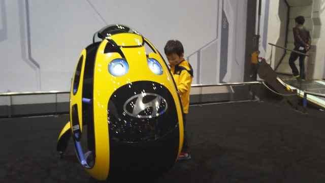 这汽车像鸡蛋一样,韩国制造
