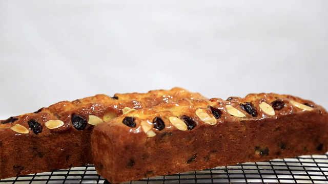 蜜饯水果磅蛋糕,肚子里全是货