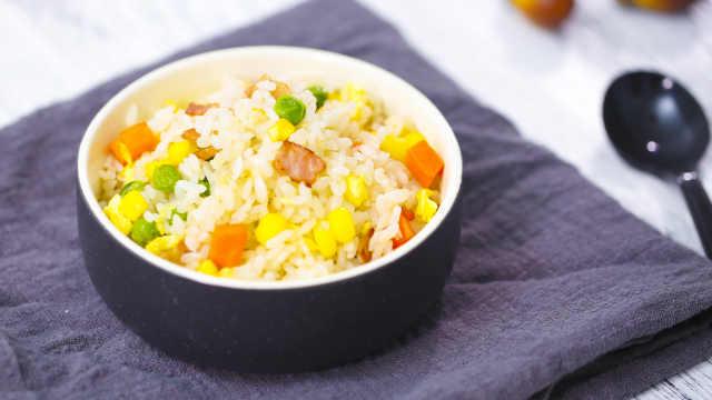 教你一種最簡單的家常炒飯做法!