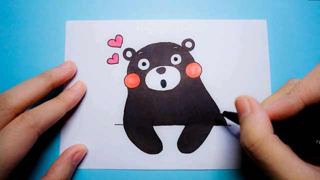 可爱的阿狸简笔画,domi画给你看!