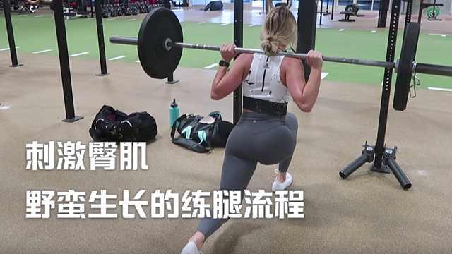 能刺激臀肌野蛮生长的练腿流程