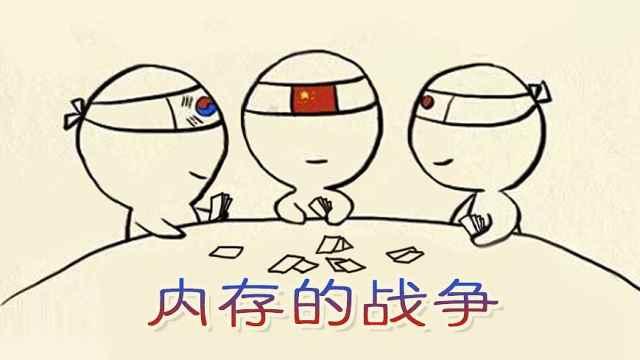 """内存的战争——中日韩的""""三国杀"""""""