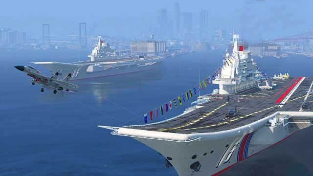 国产航母建造进度突然曝光
