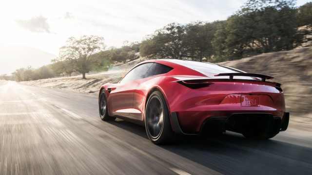 百米加速仅1.9,特斯拉发布新跑车
