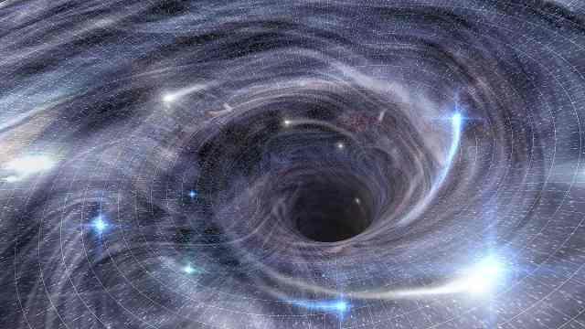 撕碎恒星,银河系最强黑洞有多厉害