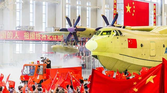 中国高调造出这款全球最大水陆飞机