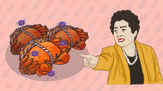 准妈妈吃螃蟹解馋前,得知道这两点
