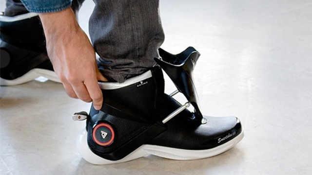 冬暖夏凉的鞋子,还会自动系鞋带