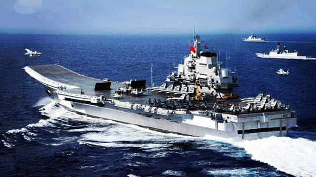 日本狂言打沉辽宁舰只用半小时