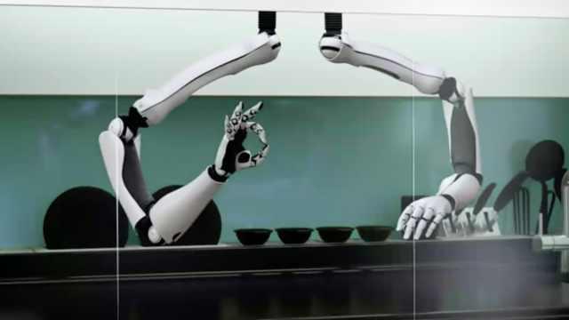 全自动西餐机诞生,每天吃五星大餐
