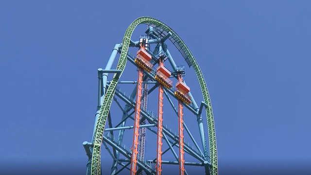 全球最刺激的跳楼机,比40层楼还高
