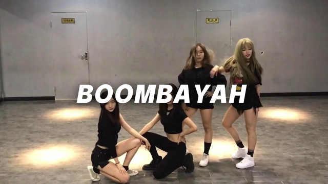 女神翻跳《boombayah》性感热舞