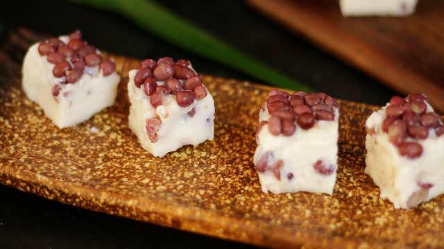 教你自制红豆糕,香甜软糯的美味