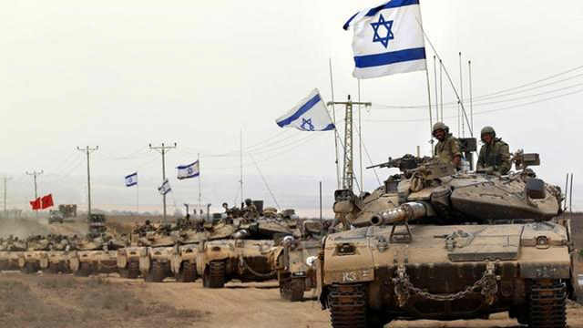 以色列集结坦克进入叙利亚领土
