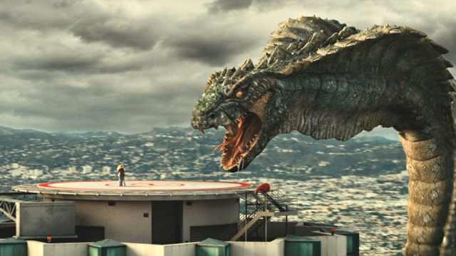 千米巨蟒袭击洛杉矶