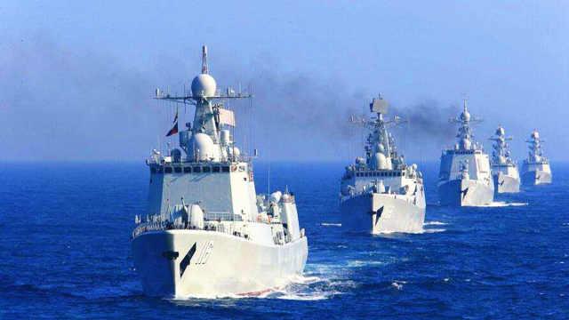 40艘中国战舰齐聚秀绝活