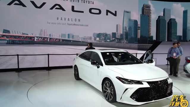 丰田全新亮相北美车展明年有望上市