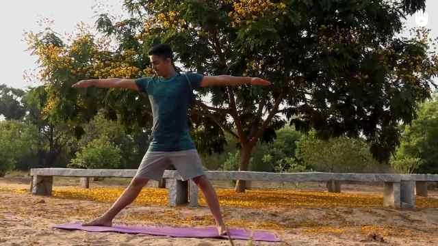 四个月渐进瑜伽练习:第二套动作