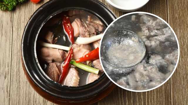 为什么骨头汤里会有浮沫,能吃吗?