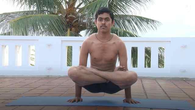 印度古式瑜伽教学:秋千式