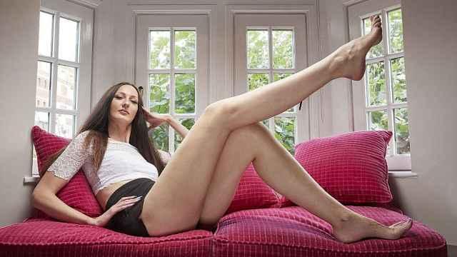 世界腿最长女模特,阳光性感有气质