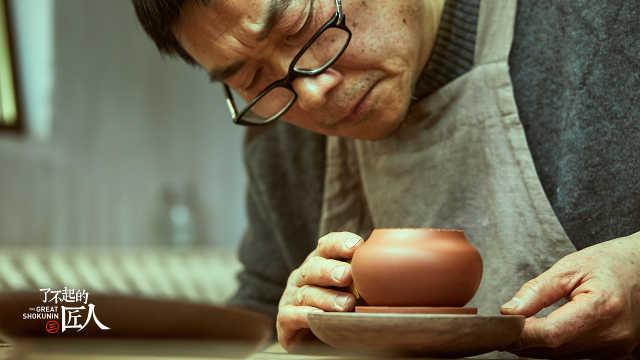 他做的一个紫砂壶最低卖100万