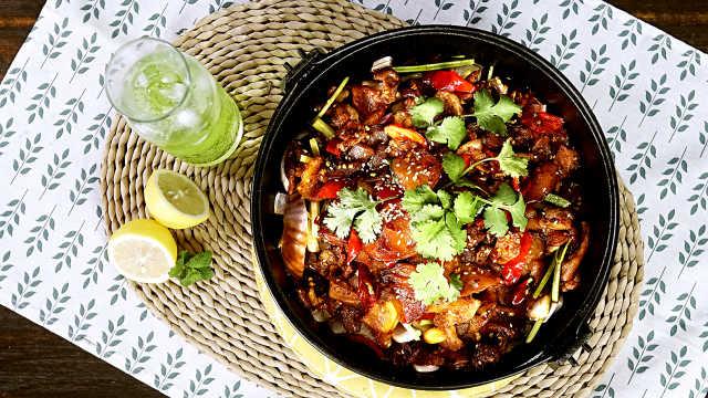 干锅土豆片,土豆最美味的吃法