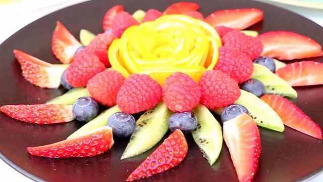 水果在家这样吃,会比较有食欲哦!