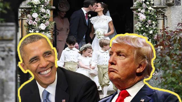 英王室未邀请特朗普奥巴马参与婚礼