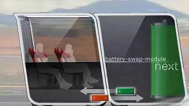 迪拜无人公交车,车厢能自动分合