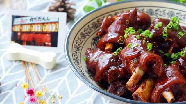 家常菜中的超级美味,红烧猪蹄
